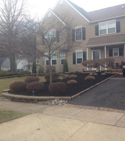 Residential landscaping renovations